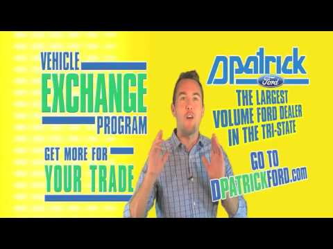 D-Patrick Ford - Pay Less For Your Car - Vehicle Exchange Program