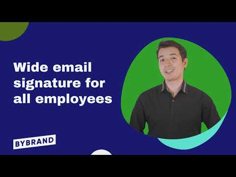 How to create an HTML company-wide email signature