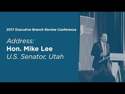 2017 Executive Branch Review Address: Hon. Mike Lee