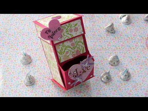 Dispensador de dulces para el dia de san valentin 14 de - Dulces de san valentin ...