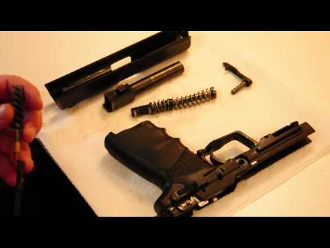 How to field strip, clean, and maintain an H&K USP and Magazine (HD)