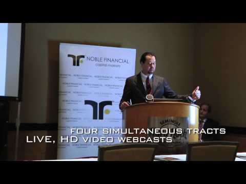 Noble Financial Ninth Annual Equity Conference Video JAN 22-23, 2013, Ft. Lauderdale, Florida