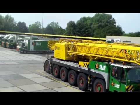 30+ Huge Mobile Cranes !! , Saan Movers , Diemen , Holland.