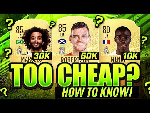 HOW TO KNOW WHEN A PLAYER IS TOO CHEAP?! FIFA 20 Ultimate Team