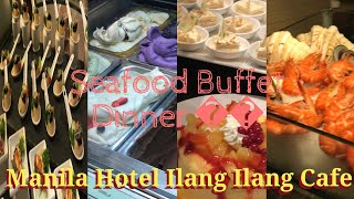 Life in the Philippines & Seafood Buffet at Manila Hotel! So Yummy!