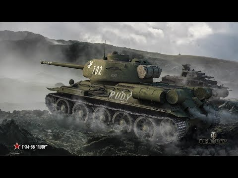 World Of Tanks odc.1 [CEL:T-34-85]