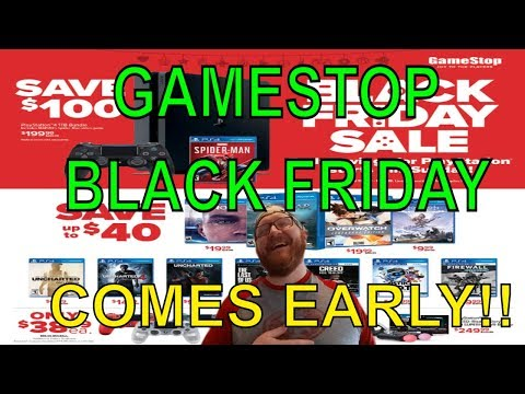 Gamestop Black friday Deals 2018