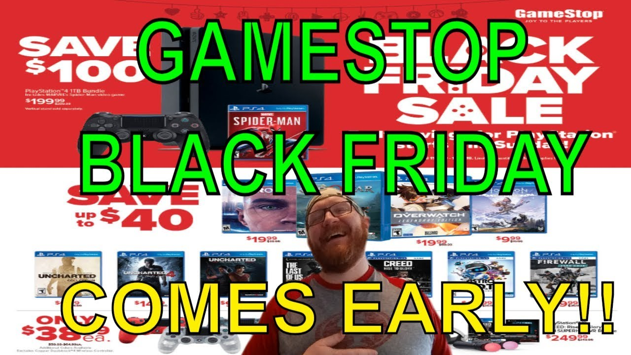 Gamestop Black Friday Deals 2018 Youtube