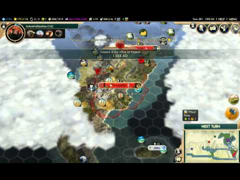Civilization V: Brave New World #4 - Poland, world centre from Argentina