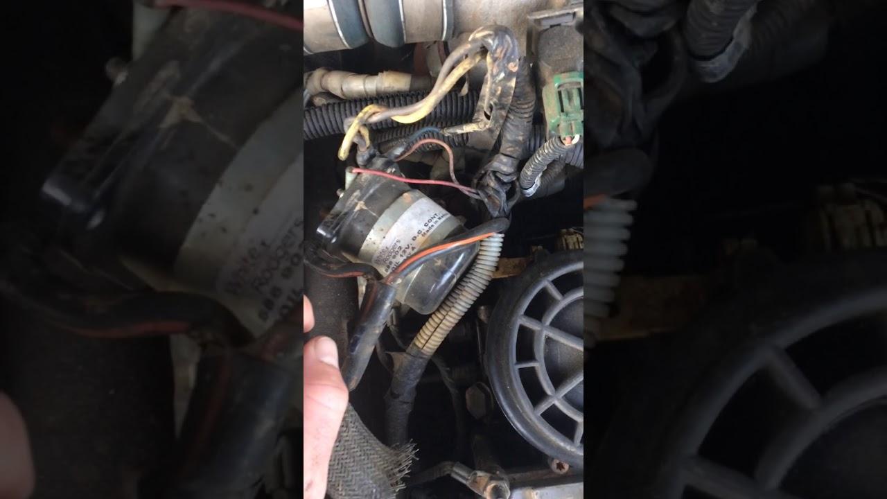 Ford 73 Glow Plug Relay Failure Solution Gpr Fix Youtube 96 F350 Engine Wiring Harness
