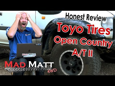 Toyo Tires Open Country A/T II Review