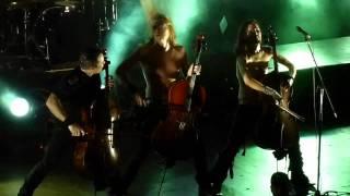 Apocalyptica - Hall Of Mountain King - DESPEDIDA ARGENTINA 2012