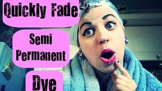 Quickly Fade Semi Permanent Hair Dye - Shampoo Bath