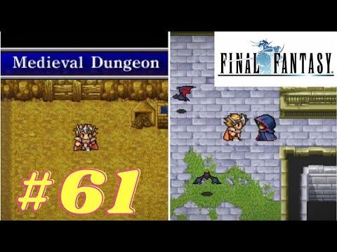 Final Fantasy 1 | #61. Labyrinth of Time, Bat Cave | PSP | Let's Play Walkthrough |
