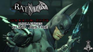 BLIND JUSTICE | Batman: Arkham City | Chalanges | Combat Maps (as Batman)