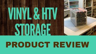 Vinyl & HTV Storage Box - Product Review