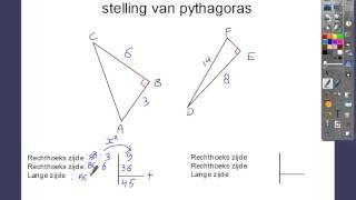 Stelling van pythagoras 5.4 3kbl