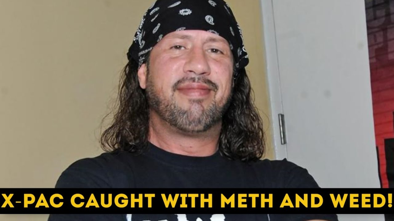 Ex-WWE star X-Pac arrested after reportedly trying to smuggle meth through airport customs