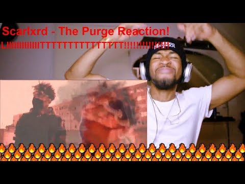 scarlxrd - THE PURGE [Prod. RVFF FVRGO] Reaction!