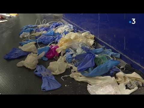 Coronavirus Gard : gants souillés, masques contaminés ce sont les déchets retrouvés au centre de tri