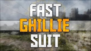 "How to Get a Ghillie Suit in Call of Duty Ghosts! ""Fast Ghillie Suit"" Class Setups!"