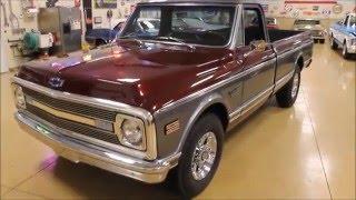 1969 Chevrolet Custom C20 Truck - Vintage Motorcars - Sun Prairie, WI