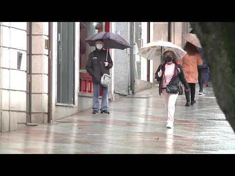 La borrasca ya se deja notar en Ourense 21.1.21