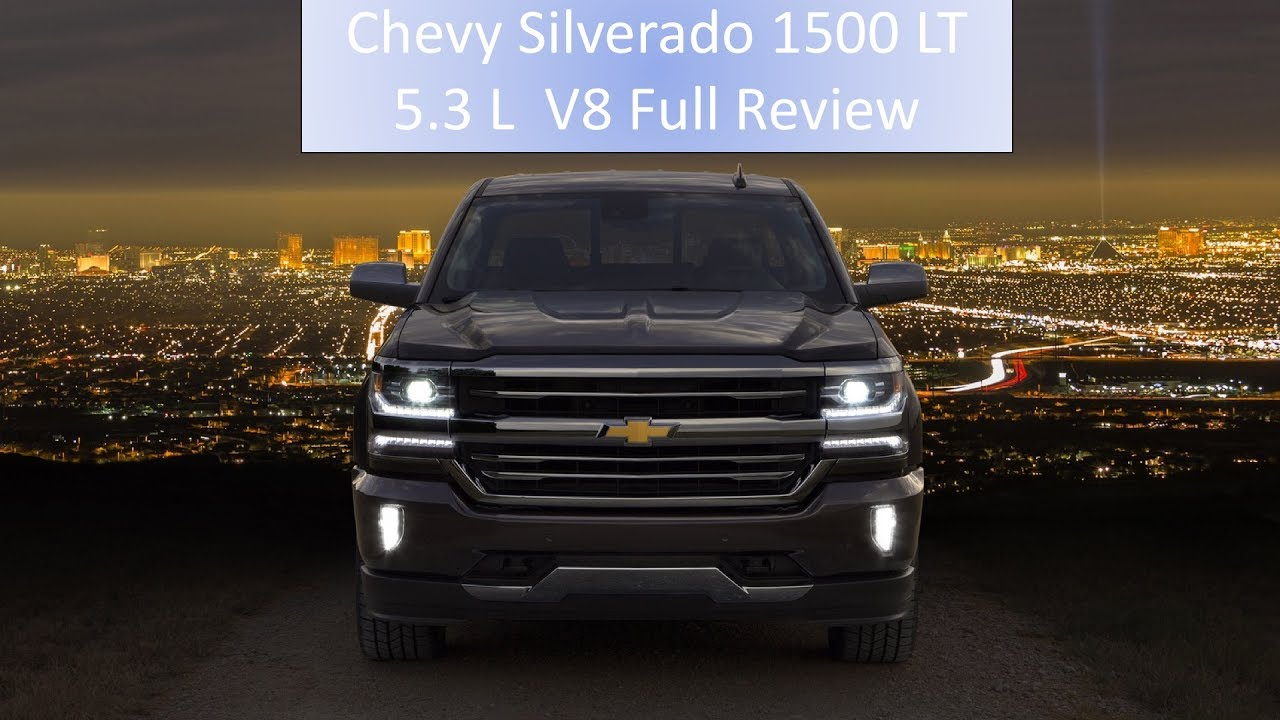 2017 chevy silverado 1500 lt 5 3 l v8 full review engine start full visual youtube. Black Bedroom Furniture Sets. Home Design Ideas