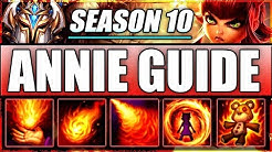 ANNIE GUIDE SEASON 10 (2020) - How to Play ANNIE MID for Beginners - League of Legends