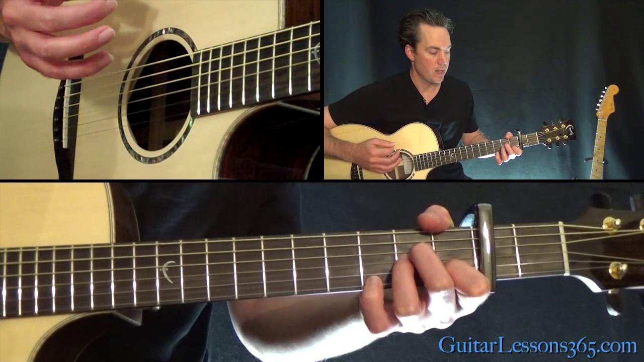 Last Christmas Guitar Chords Lesson Wham Youtube