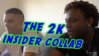 Professor hangs with gamer Mykhail aka the '2k Insider'