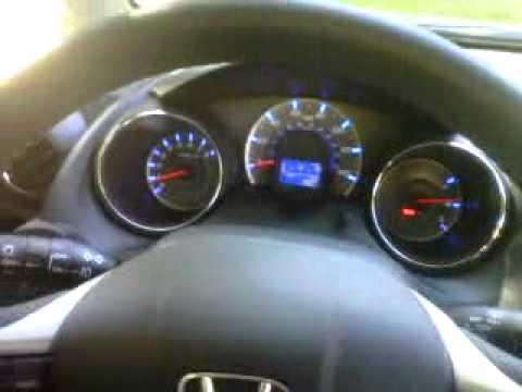 2012 Honda Fit Sport Review, Quick Drive, Walk Around, Interior, Start Up U0026  Rev   YouTube