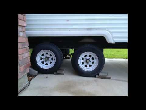 Customizing my FEMA Forest River Traval Trailer