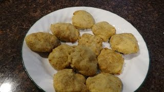 Low Carb High Protein Lemon Butter  Cookie