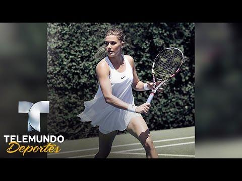 Eugenie Bouchard: belleza y talento en el Tenis | Juegos Olímpicos | Telemundo Deportes