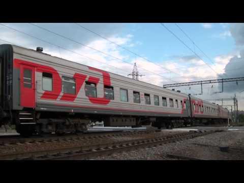 ЭП1М-564 с поездом №198 Иркутск — Кисловодск