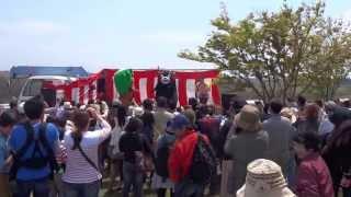 熊本県阿蘇郡南小国町の標高845mの地にある巨石群遺跡・押戸石にて 押...
