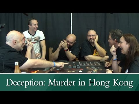 Convention All-Stars play Deception: Murder in Hong Kong - WT3C (2016)