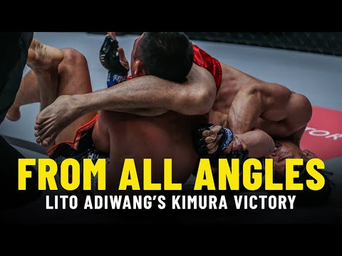 Lito Adiwang's LIGHTNING-FAST Kimura | From All Angles