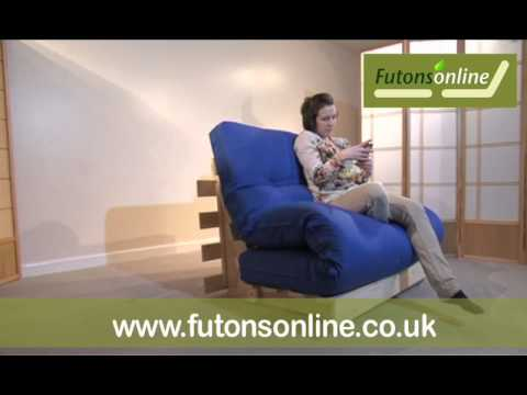 Futons Online Show A 2 Seat Pine Futon Sofabed