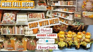 Fall Decor Shop with Me l Michael