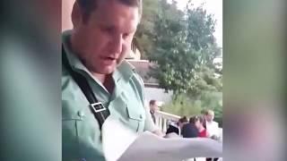 Избиение судебного пристава при выселении  из жилого дома в г. Сочи