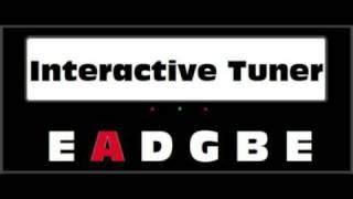 Interactive Guitar Tuner (Standard Tuning)