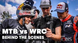 Behind the Scenes: Mountain Biker Races WRC Driver I Andreu Lacondeguy vs Dani Sordo