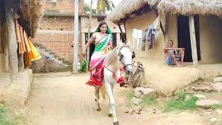 Woman's Horse riding (Part 5)