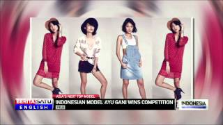 Indonesian Model Ayu Gani Wins Asia