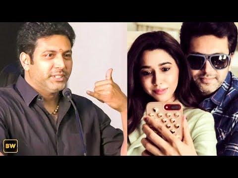 How I threaten my wife - Jayam Ravi's Fun speech | Adanga Maru Success Meet