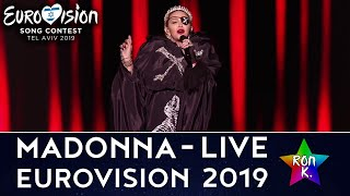 "Madonna - ""Like A Prayer/Dark Ballet"" / ""Future""  (feat. Quavo) - Live at Eurovision 2019"