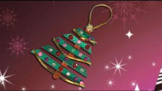 Nice Christmas Tree, Crafts Ideas For Christmas Decoration