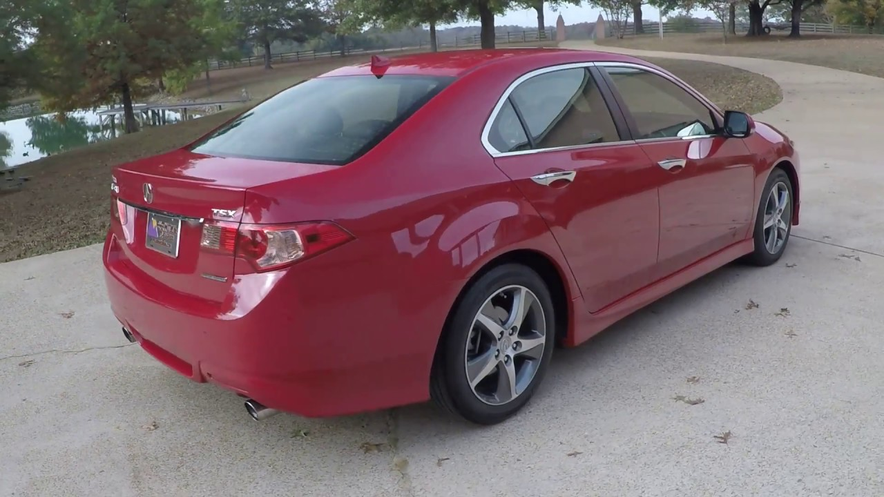HD VIDEO 2013 ACURA TSX SPECIAL EDITION MELANIO RED FOR SALE INFO ...